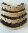 Front Brake Shoes 75 1950 Chassis Number 4300492 on (Exchange)