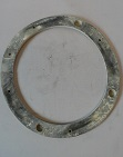 Headlamp Bowl Back Gasket 1957 on