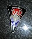 Grill Badge 60 Enamel