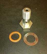 Banjo Bolt c/w Washers