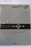 Rover 2000 Workshop Manual