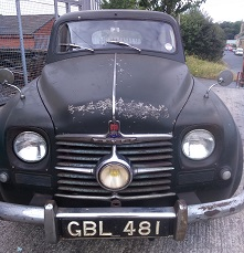 Rover P4 75 1950 Square Dial Cyclops