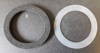 Flasher Lens Gaskets Pair
